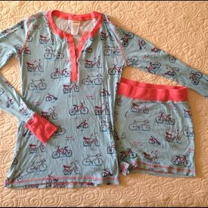 2-piece Bicycles Pajama Set