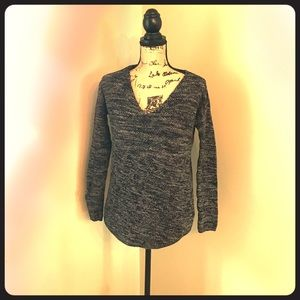 Relaxed fit lightweight sweater