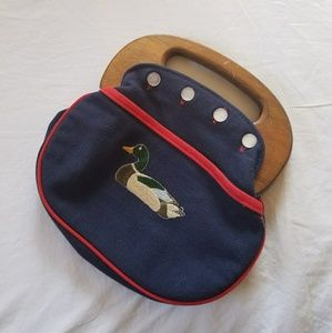 Vintage 1950s-1960s Duck Bag