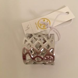 Tory Burch Jewelry - Tory Burch silver ring NWT!