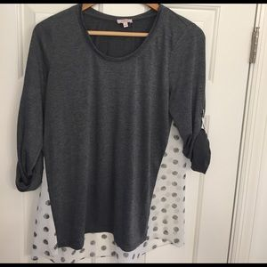 Gray Stitch Fix Top