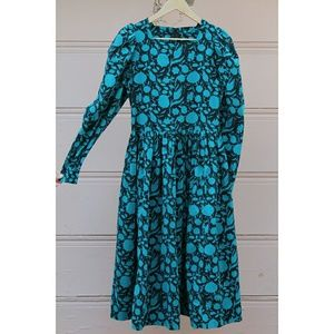 Laura Ashley Dresses & Skirts - Vintage Laura Ashley NWT floral corduroy dress