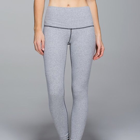 Lululemon Athletica Pants Jumpsuits Flash Sale Lululemon Ghost Herringbone Leggings Poshmark
