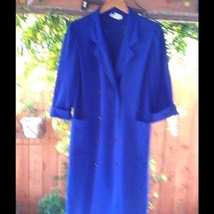 Leslie Fay Dresses & Skirts - 💙 Beautiful 80's does Rockabilly blue dress