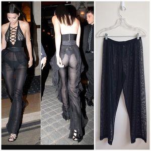Mesh Trousers