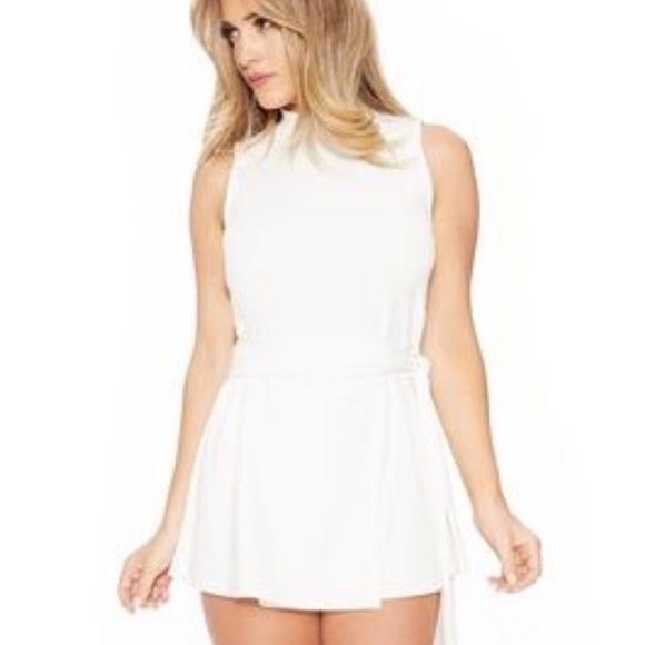 0d45ab9d5e2 White Naked wardrobe sultry romper