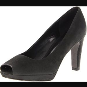 Ecco Shoes - Ecco Okoya Peep Toe Heels