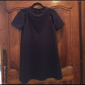 English Factory Dresses & Skirts - Revolve English Factory Navy Pique Cap Slv Dress