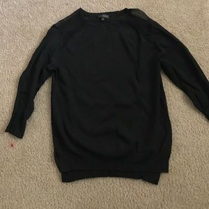 The Limited Black Long Sleeve Top