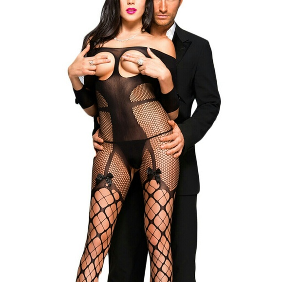 11b22c689 NEW Sexy lingerie Open Cups Full-Body stockings !