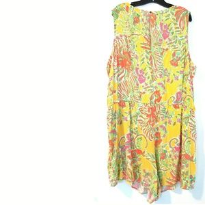 a9da6a8e816 Lilly Pulitzer for Target Pants - Lilly Pulitzer 3X Challis Romper Happy  Place