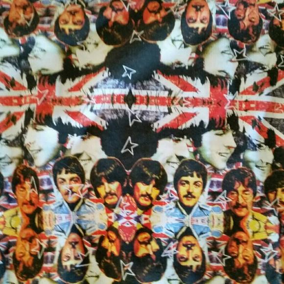 RARE Blomor Beatles British Flag Sweatshirt Size L
