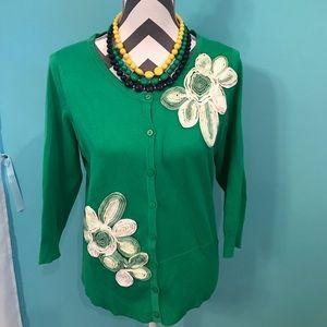 Joseph Sweaters - Green cardigan