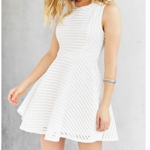 Urban Outfitters S+N Shadow-Strip Skater Dress