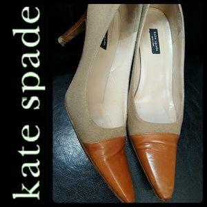 Kate Spade NY Italy Leather Pumps