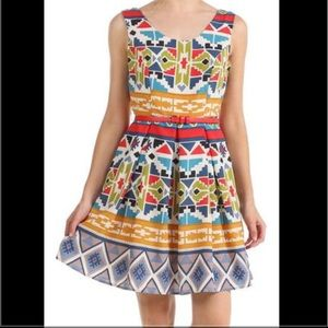 Moon Collection Dresses & Skirts - Alice Moon by Moon Collection Aztec dress. Size: M