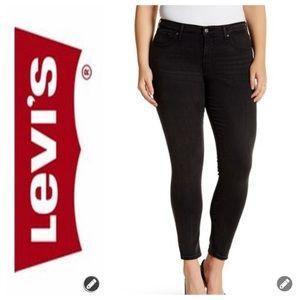 NWT Levi's 310 Shaping Super Skinny Black Jeans