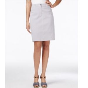 Charter Club Dresses & Skirts - Charter Club Striped Pencil Skort. B059