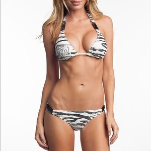 Sinful Other - Sinful by Affliction Zebra Foil Bikini