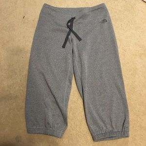 North Face capris sweatpants