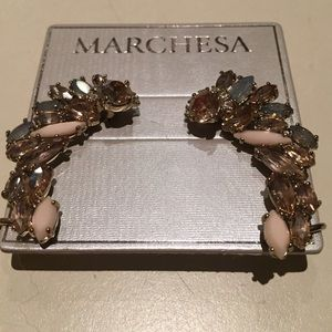 Marchesa Jewelry - Marchesa Crawler Earrings