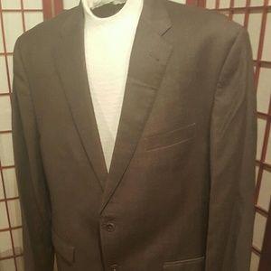 Men's brown Jos A. Bank suit