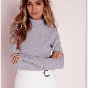 Missguided Tops - Cropped Sweater