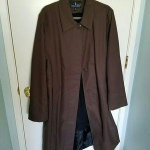 London Fog Jackets & Blazers - London Fog lined trench coat