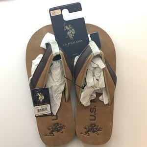 U.S. Polo Assn. Other - BRAND NEW U.S Polo Assn. Men's sandals 11/12