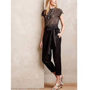 ANTHRO black high waisted pants