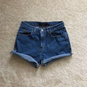 Calvin Klein Pants - Calvin Klein High Haisted Shorts