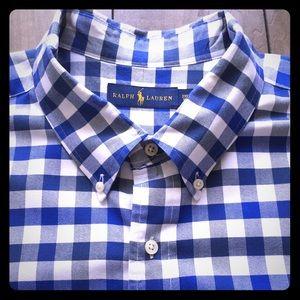 Men's Ralph Lauren Short Sleeve Button Down Shirt