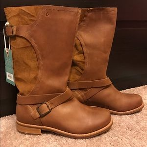 OluKai Shoes - Olukai Pa'ia Leather Boots