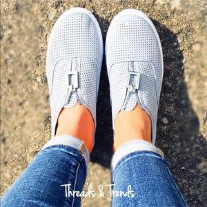 Threads & Trends Shoes - 🌸🆕Serenity Blue Slip On Sneakers