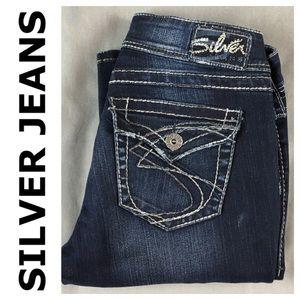 Silver Jeans Denim - ☮️Silver Suki Surplus Bootcut Jean in size 28