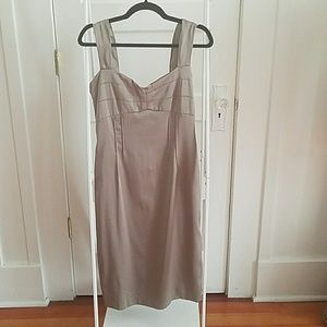 Ariella Dresses & Skirts - Taupe Bombshell Blacktie Dress
