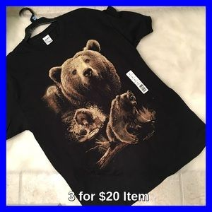 Last Creek Outfitters Other - Last Creek Outfitters Bear T Shirt