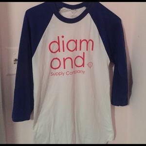 Diamond Supply Baseball Tee