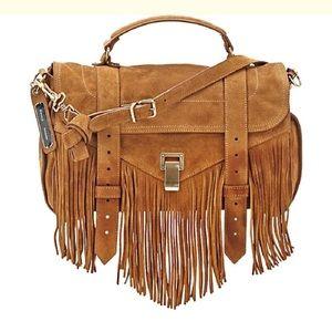 Proenza Schouler Handbags - New Proenza Schouler PS1 Medium Suede Satchel