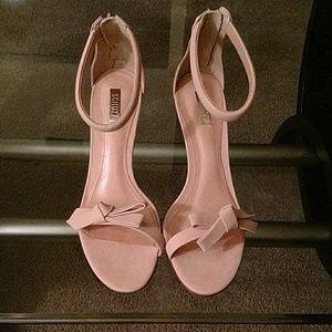 Schultz Shoes - SCHUTZ nobuch peach loja heels
