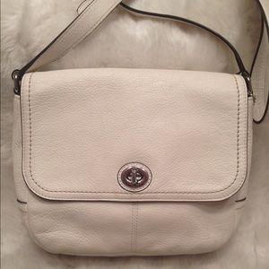 Coach Handbags - COACH Park Violet LEATHER CrossBody Bag