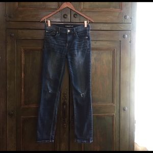Express Mid Rise Skinny