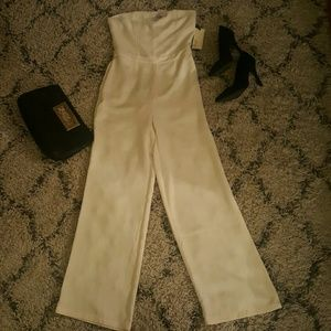 Strapless Jumpsuit by Forever 21