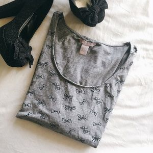 Forever 21 Tops - Bow Top