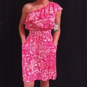 Lilly Pulitzer Dresses & Skirts - Lilly Pulitzer one shoulder dress