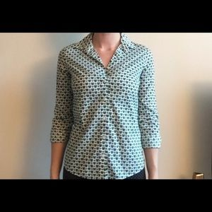 J. Crew Perfect Fit Button Up Size 2