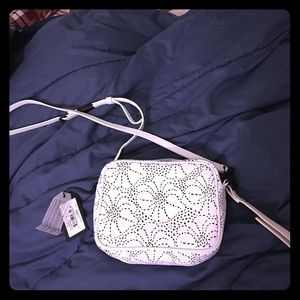Foley + Corinna Handbags - Foley+Corinna White Leather Crossbody