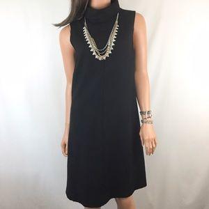 Theory Dresses & Skirts - Theory Wool Turtle Neck Shift Dress