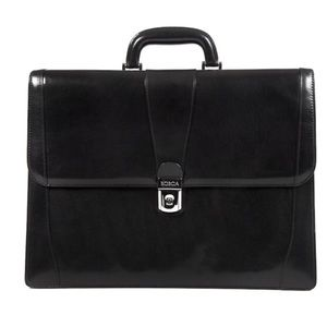 Bosca Other - Bosca Italian leather men's briefcase NWT