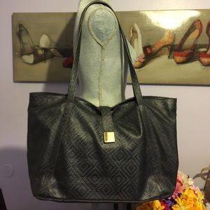 Lodis Handbags - Lodis Black Leather Tote